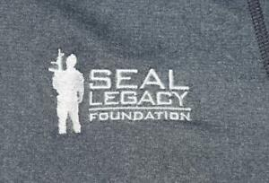 US Navy SEAL Legacy Foundation NSW SOF Lightweight Workout PT Shirt - SMALL 48