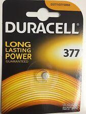 10 DURACELL 377 D377 SR626SW/280-39 1.5 Silver Oxide Watch Batteries Genuine UK