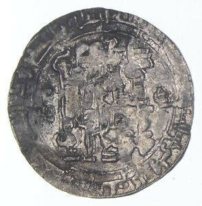 SILVER Roughly the Size of a Quarter Worn Mystery Coin World Silver Coin *674