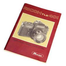 Ricoh TLS 401 Bedienungsanleitung * manual