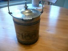 More details for antique biscuit barrel. doulton lambeth. late 1800's. very rare.