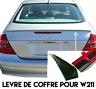LAME COFFRE SPOILER BECQUET AILERON pour MERCEDES W211 Classe E 02-06 AMG BRABUS