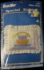 BUCILLA SPECIAL EDITION PILLOW SHAM KIT #64007 NOAH'S ARK BABY COLLECTION NEW!