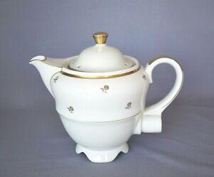 Aromator Neuerer Porzellan Kaffeekanne Teekanne Art Deco gedeckter Tisch