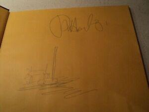 Pro Hart Original signed ink drawing in Pro Hart's Breaker Morant book 1981