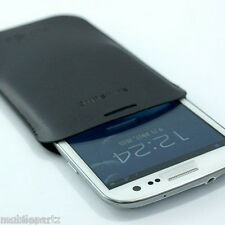 Genuine Samsung Galaxy S3 i9300 Navy Blue / Black PU Leather Case EFC-1G6LBEC