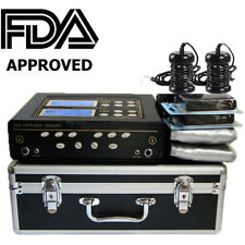 FDA Dual User Foot Bath Spa Machine Ionic Detox Cell Cleanse w/LCD+5 Modes+Belts
