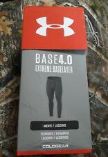 Under Armour 1343245 Men's UA ColdGear Base 4.0 Baselayer Leggings, Black