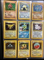 20 Original VINTAGE Pokemon Cards 1st Edition HOLO Rare Lot Played