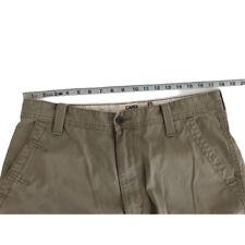 Men's LEVI'S STRAUSS Cargo Loose Straight Beige Khaki Pants Size 34 x 32