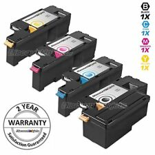 4pk BLACK & Color Printer Laser Toner Cartridge for Dell 1350cnw C1760nw C1765nf