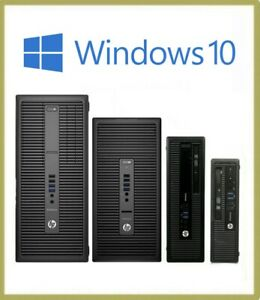 Fast Cheap HP i3 i5 i7 USDT SFF MT TWR 8GB 500GB Windows 10 Wifi PC Computer