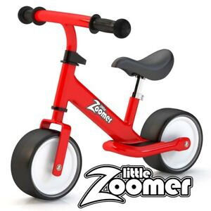 RED BALNCE BIKE FOR 2-4 YEARS - EXTRA WIDE WHEELS FREE POSTAGE