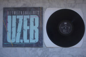 UZEB BETWEEN THE LINES LP 1985 VALEUR + JAZZ FUSION