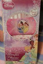 Disney Princess Bedding Collection microfiber Standard twin Pillowcase pink