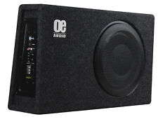 "OE 12"" Sub woofer built in AMP Amplified Active Slim Shallow bassbox Power!"