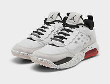 NEW YOUTH JORDAN AIR MAX 200 WHITE/RED BLACK BASKETBALL SHOES SZ 5Y CD5161-100