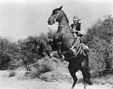 Vtg RARE Black & White Portrait of ELVIS PRESLEY Western Charro Movie Photo #643