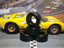 1/24 PAUL GAGE URETHANE SLOT CAR TIRES 2pr fit Carrera D124 Ford GT40 MkII