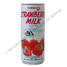 POKKA STRAWBERRY MILK DRINK - 30 X 240ML
