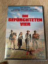 DVD : Die Gefürchteten Vier : Burt Lancaster / Lee Marvin / NEU und Verschweißt