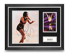 Jessie J Signed Photo Framed 16x12 Display Music Autograph Memorabilia COA