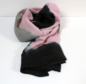 Echarpe ou foulard tie & dye rose Maje