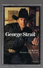 George Strait Always Never The Same Cassette