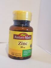 Nature Made Zinc 30 mg 100 Tabs
