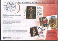 Creative Memories Scrapbooking Albums White