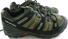 Salomon Shoes Mens 9.5 Cherokee Contagrip Dark Khaki  Iguana Green  Nile Green