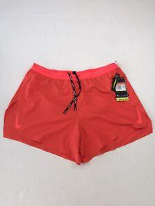 Nike Running Aeroswift Racing Shorts Mens Size Large Cj7840-673