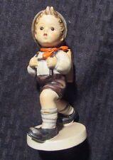 """Vintage Goebel Hummel Figurine 5"""" #62 Boy w/ Backpack"""
