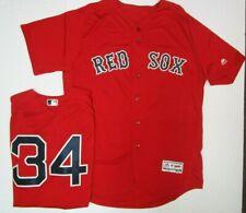 Majestic Size 48 Boston Red Sox David Ortiz Authentic Flex Base Red Jersey NWT