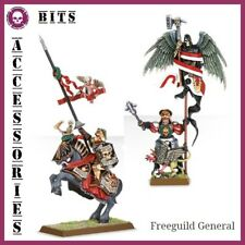 BITS FREE PEOPLES FREEGUILD GENERAL EMPIRE WARHAMMER BATTLE AOS