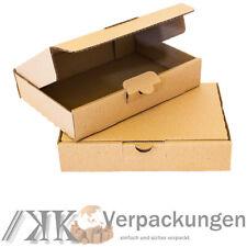 400 Maxibrief Kartons Schachteln 260 x 180 x 50 mm DIN A5//B5 Warensendung braun