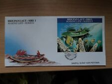 Malaysia 1988 17 Dec FDC Marine Life (1st) MS Bureau Postmark Kuala Lumpur