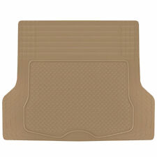Trunk Cargo Floor Mats for Car SUV Truck Auto All Weather Beige Heavy Duty