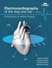 Electrocardiography of the Dog and Cat. Diagnosis of Arrhythmias 2a Edizione di Roberto Santilli, N. Sidney Moïse (2018. Brossura)