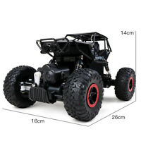 4-WD ROCK CRAWLER MONSTER BUGGY 1:16 ALLOY RC Remote-Control Off-Road Car RTR