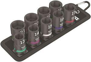 "Wera 8790 Belt C Impaktor 1 Socket Set 1/2"" Drive Metric 05004580001"