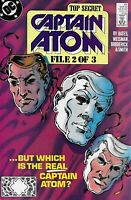 Captain Atom Comic 27 Copper Age First Print 1989 Bates Weisman Broderick DC