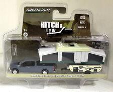 Greenlight 1/64 Scale 2015 Ford F-150 + Pop-up Camper Trailer Diecast model car