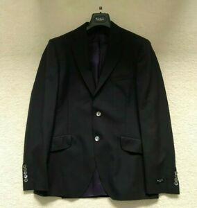 Paul Smith LONDON Travel Blazer Jacket in BLACK Size 40