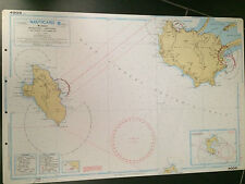 CARTA NAUTICA NAUTICARD 4002 NORD / 4002 SUD  PROMONTORIO ARGENTARIO TALAMONE