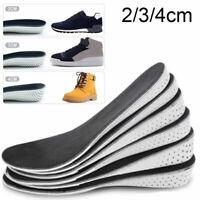 Unsex Erhöhung Einlegesohle Fersenkissen Höhe Taller Pad Schuheinlagen Erhöhenni