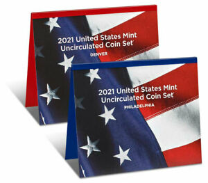 2021 US United States Mint Uncirculated Coin Set OGP