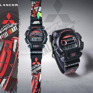 Customize Mitsubishi Lancer Evolution DW 9052 Casio G Shock Resistant Wristwatch