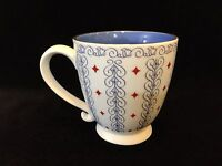 "2003 Starbucks Barista Big Coffee Cup Mug, Blue Inside, 4 1/2"" Tall x 4"" Dia"