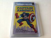 CAPTAIN AMERICA THE SECRET STORY #NN CGC 9.4 WHITE PAGES IDEALS HARD TO FIND